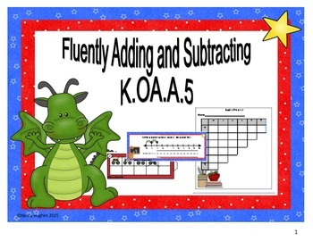 Fluently Adding and Subtracting - Standard K.OA.A.5