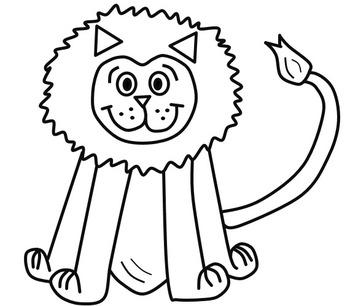 Fluffy Lion Clip Art Freebie! {Wendel Artistry}