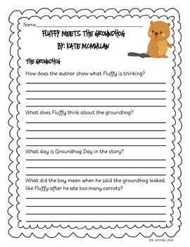 Fluffy Meets the Groundhog: Reading Companion and Quiz