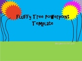 Fluffy Tree PowerPoint Template for Dr. Seuss or Earth Day Unit