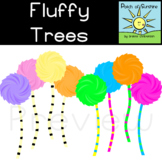 Fluffy Trees Clip Art *Patch of Sunshine*