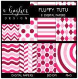 12x12 Digital Paper Set: Fluffy Tutu {A Hughes Design}