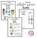 Fluffy White Snow Slime Activity