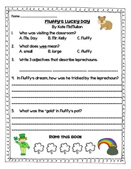 Fluffy's Lucky Day FREEBIE