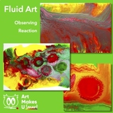STEAM Art Lesson Fluid Art Project Powerpoint