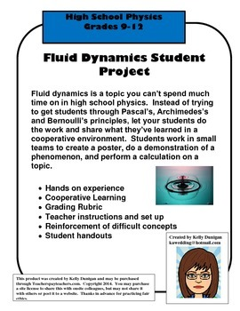 Fluid Dynamics Project - Cooperative Learning