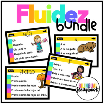 Fluidez Digital BUNDLE (Interactive activities to build fluency)