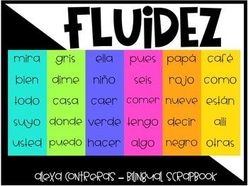 Fluidez Digital Vol. 3 (Interactive PDF with sentence to build fluency)