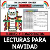 Lecturas para Navidad | Comprensión y Fluidez | Distance Learning | Printables