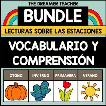 Fluidez y Comprensión: Lecturas sobre las Estaciones. BUNDLE