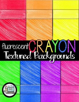 FLUORESCENT CRAYON TEXTURED BACKGROUND PERSONAL AND COMMERCIAL USE