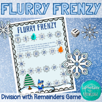 Flurry Frenzy Division with Remainders Game