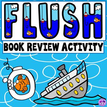 Flush Book Review Activity (Carl Hiassen)