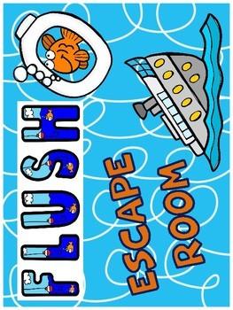 Flush Novel Escape Room Activity (Carl Hiassen)
