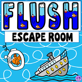 Flush Novel Escape Room Activity (Carl Hiassen)