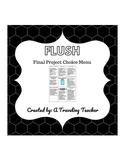 Flush Project Menu