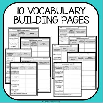 Flush by Carl Hiaasen- Vocabulary Building and Summarization Practice