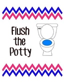 Flush the Potty Sign