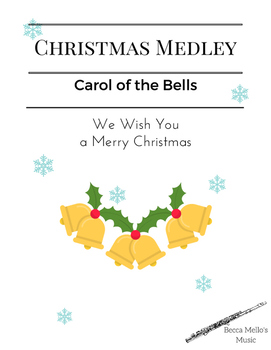 Christmas Medley - Flute Solo or Duet