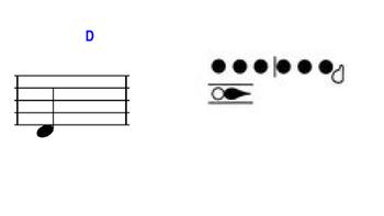 """Flute Fingering """"Flash Slides"""""""