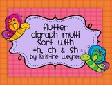 Flutter Butterfly Multi Sort Digraph th ch sh Game Literacy Center