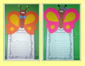 Flutter, Flutter, Butterfly! Craft and Activities