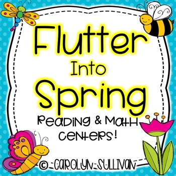 Flutter Into Spring- With Common Core Standards Included