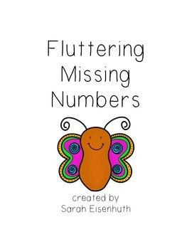 Fluttering Missing Numbers - Missing Numbers 1-9