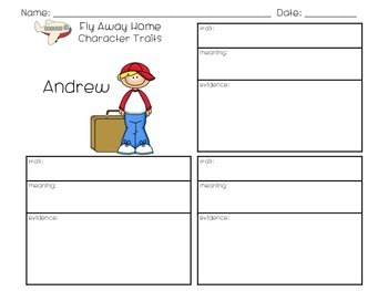Fly Away Home Character Traits