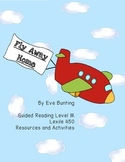 Fly Away Home with Notice and Note Word Work Inferencing Character Traits
