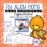 Fly Away Home Graphic Organizers with Differentiation