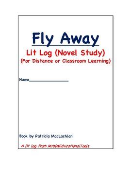 Fly Away Lit Log