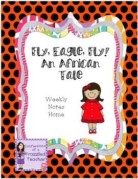 Fly, Eagle, Fly! An African Tale Weekly Letters (Scott Foresman Reading Street)