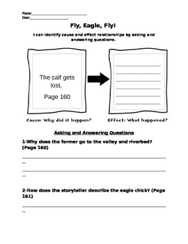 Fly Eagle Fly - First Read Worksheet