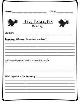 """Fly, Eagle Fly""  - Retelling"