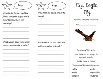 Fly Eagle Fly Trifold - Reading Street 3rd Grade Unit 4 Week 5