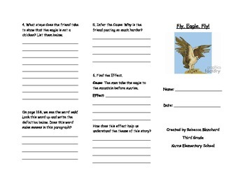Fly, Eagle, Fly! Trifold for On Level Students