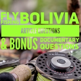 Fly Fishing Bolivia Article, Questions, & BONUS Documentar