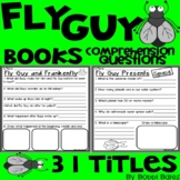 Fly Guy Books Comprehension Questions