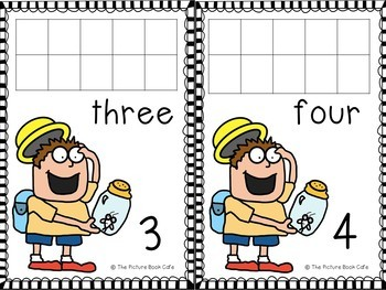 Fly Guy Counting Mats 1-10