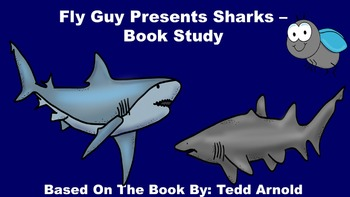 Fly Guy Presents Sharks - Book Study