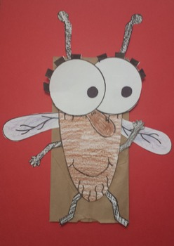 Fly Guy Puppet/Art