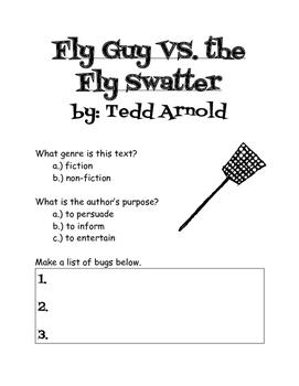 Fly Guy VS. the Fly Swatter