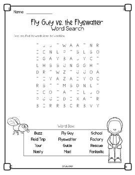 Fly Guy vs. the Flyswatter Book Companion