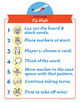 Fly High long vowel CVCe, igh, ie, y=i Phonics Game - Words Their Way Game