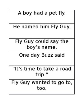 Fly High, Fly Guy Fluency