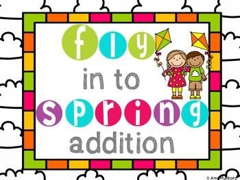 Spring Addition Task Cards