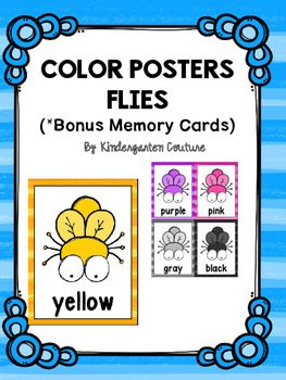 Fly (Insect Theme) Color Posters And Memory Cards
