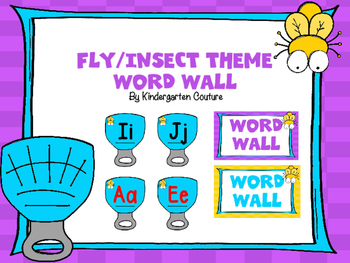 Fly (Insect Theme) Word Wall
