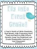 Fly Into First Grade!  EDITABLE Common Core Checklists, Go